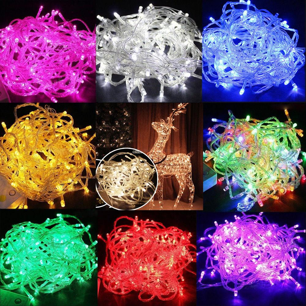 10m 100 led christmas tree fairy string
