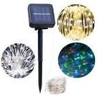 10M 100 Led Solar Power Fairy Light String Lamp Party Xmas D