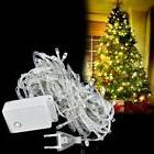 10M-100 white LED lights decorative Christmas party twinkle