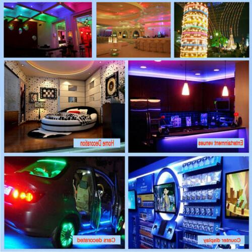 10M 3528 Waterproof SMD RGB 600LEDs LED Light 44Key Remote Control