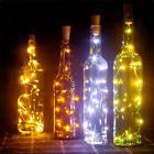 10pcs Warm Wine Bottle Cork Shape Lights  10 LED Night Fairy