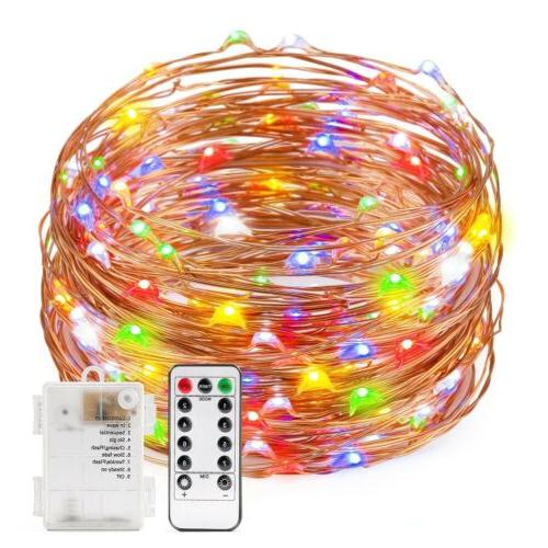 120 LED Multi-Color Fairy String Lights Xmas Wedding Outdoor