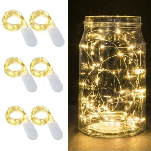 12x LED Wire Lights Decor
