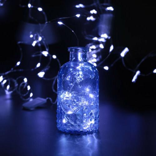 12x 20 LED 2m Waterproof LED Copper Wire Fairy Lights Decor