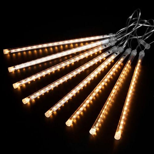 13.1ft 8Tube 144LED Shower String Lights