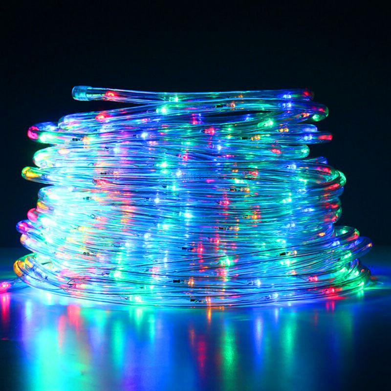 120 LED Lights String Lights Xmas Decor Indoor US