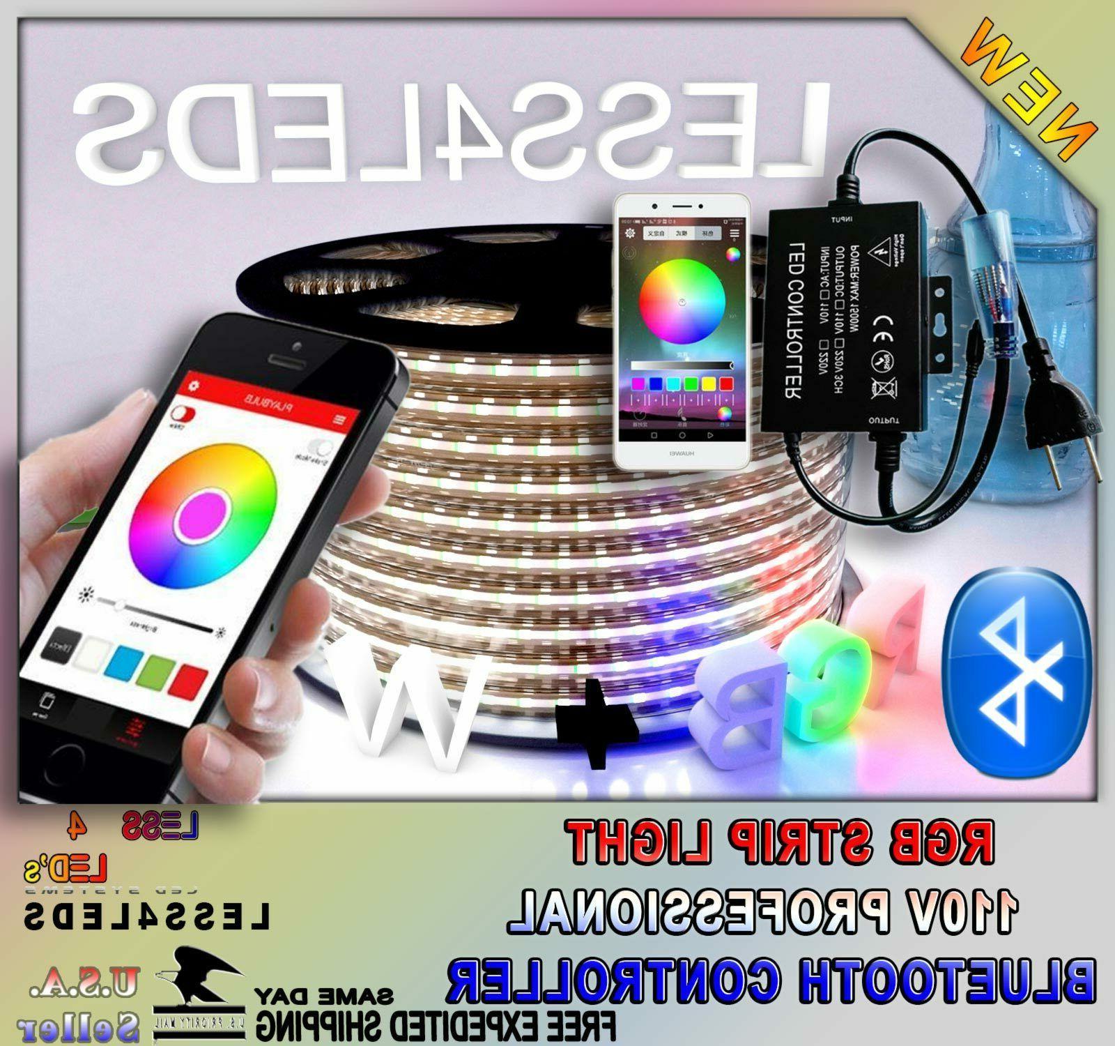 1500w professional bluetooth 110v led strip light