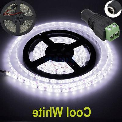 16ft Cool White 5630 Super Bright Waterproof LED Strip Light