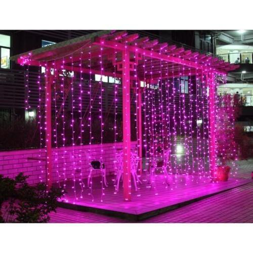 3M/6M 300/600 LED Curtain Fairy Lights Wedding Party