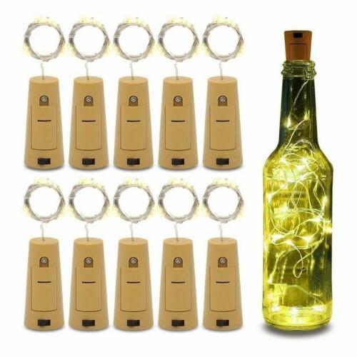 1m 2m led wine bottle cork fairy