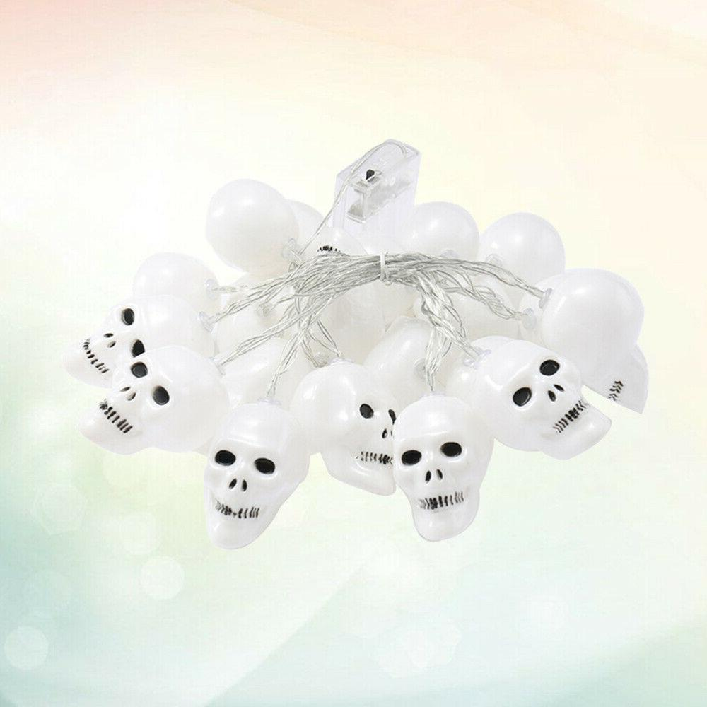 1PC Skull Heads Halloween String Light