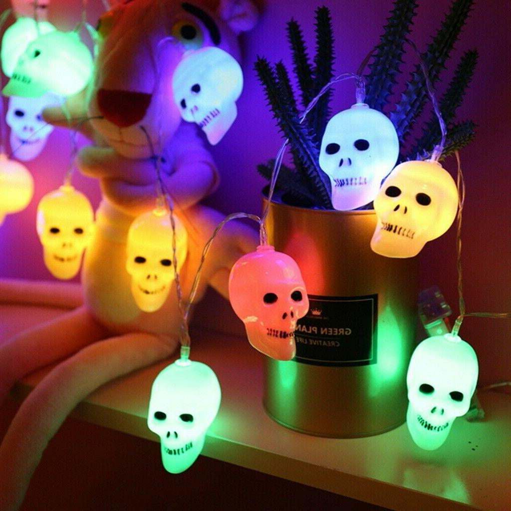 1PC String Heads String Light for Halloween