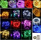 2/3/4/5/10M Christmas 3AA Battery LED Copper Wire String Lig