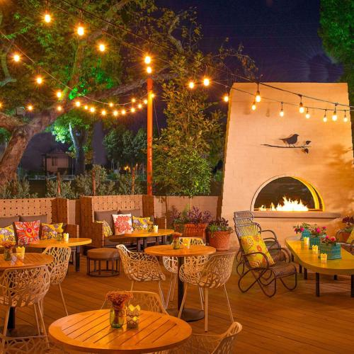 2-Pack Outdoor RGB Cafe String