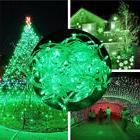 2 Pack Green Lights 32.8ft 100LEDs Christmas Wedding Holiday