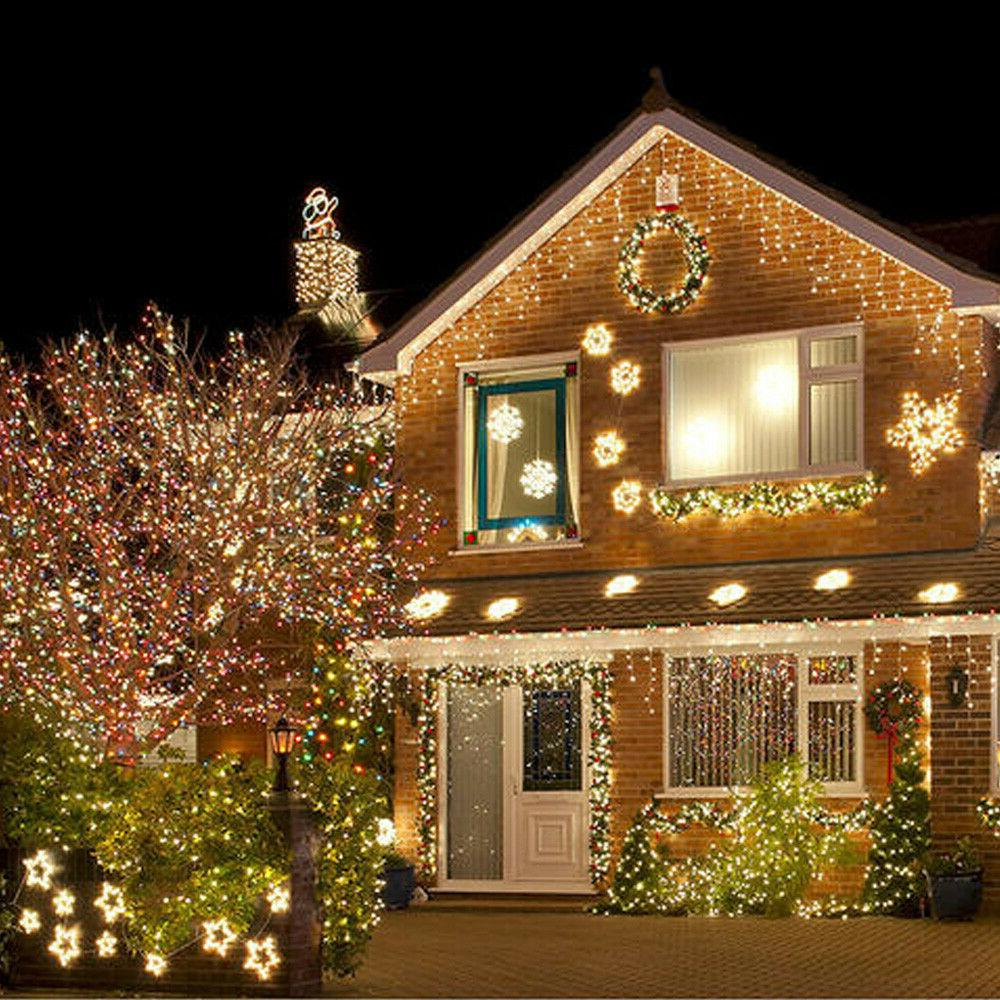 Outdoor String Lights 100 Copper Fairy White