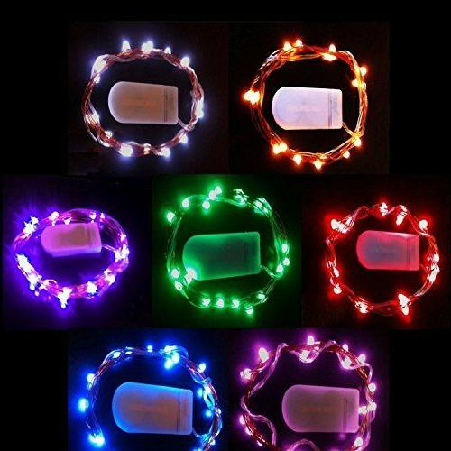 20 led copper string light with mini