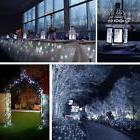 200 LED Solar String Light 72 Feet 8 Modes Silver Wire Light