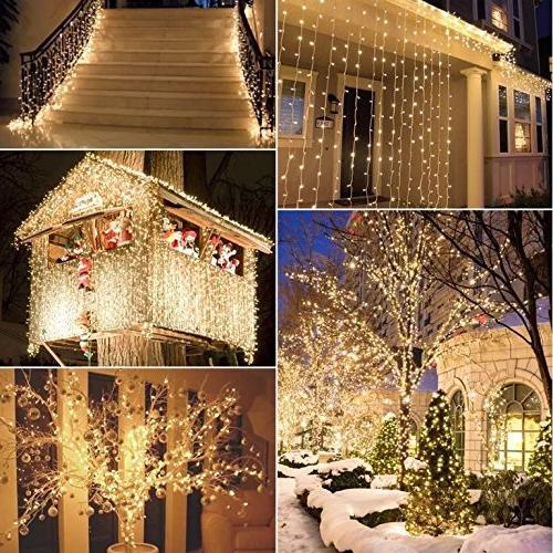 66 200LEDs Starry Copper String Lights USB Bedroom Warm White Lighting Patio Party Decor