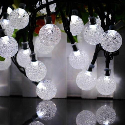 20ft 30 String Ball Lights Waterproof Garden Decor