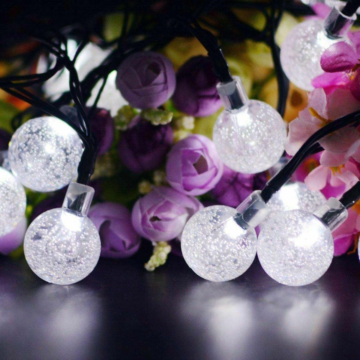 20ft String Lights Waterproof White Decor