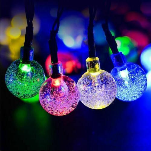 20ft String Ball Lights Waterproof Warm Decor