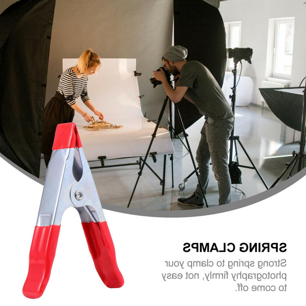 20pcs 4 Clips Photography Studio Background Holder Backdrop Clamps