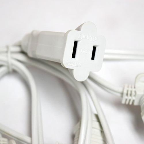24 Socket String Bulbs, 54 Cord w/ E26 Base,