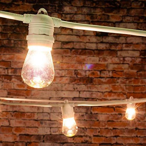 24 socket commercial string light