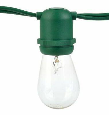 24 socket outdoor patio string light set