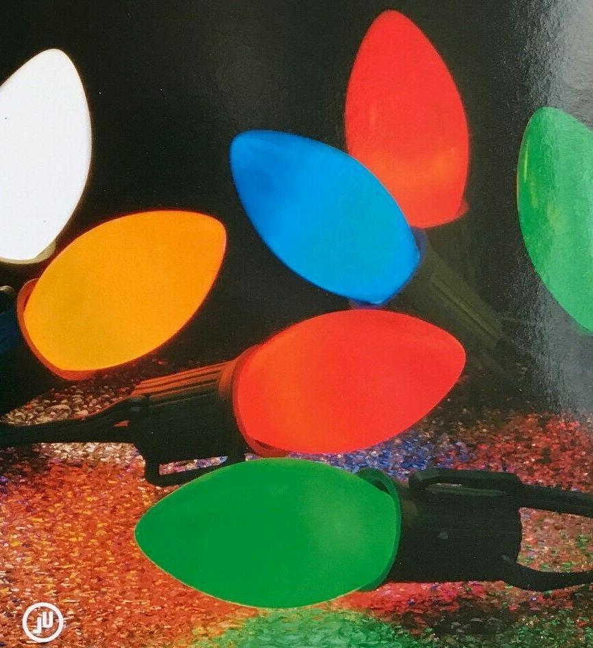 25 GE Multi-Color C-9 Incandescent Lights