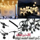 2×Industrial Vintage Retro Style LED Bulb String Lights Out