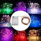 2M 20 LEDs Battery Operated Mini LED Copper Wire String Fair
