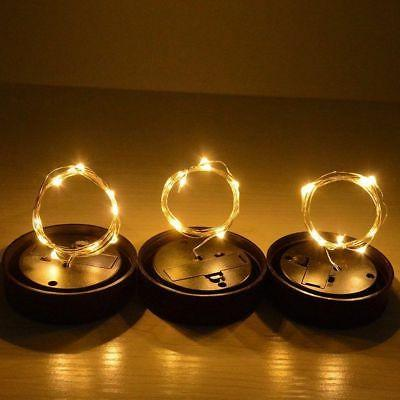 3-Pack Solar Jar Lid Fairy String Party Garden Decor