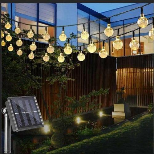 30 LED Solar String Lights Party Garden Wedding Waterproof Outdoor