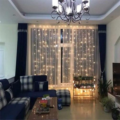 300 Curtain Lights for