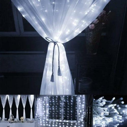Curtain String Lights Icicle for Room Decor