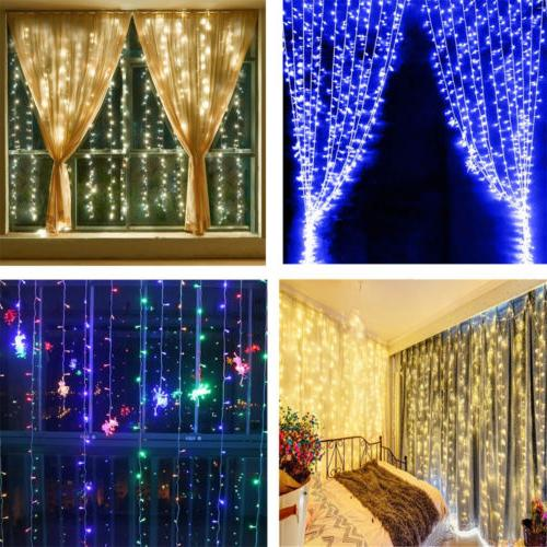 300 Curtain String Party Room Holiday