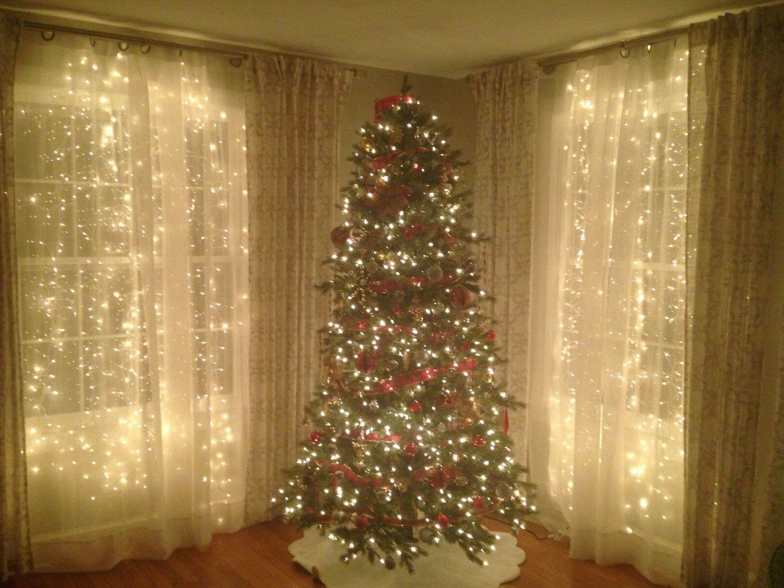 Curtain String Party Room Holiday