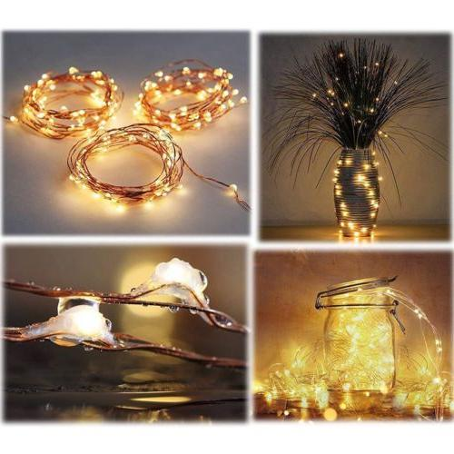 300 Curtain Fairy Lights USB Hanging Wall Lights 8Modes