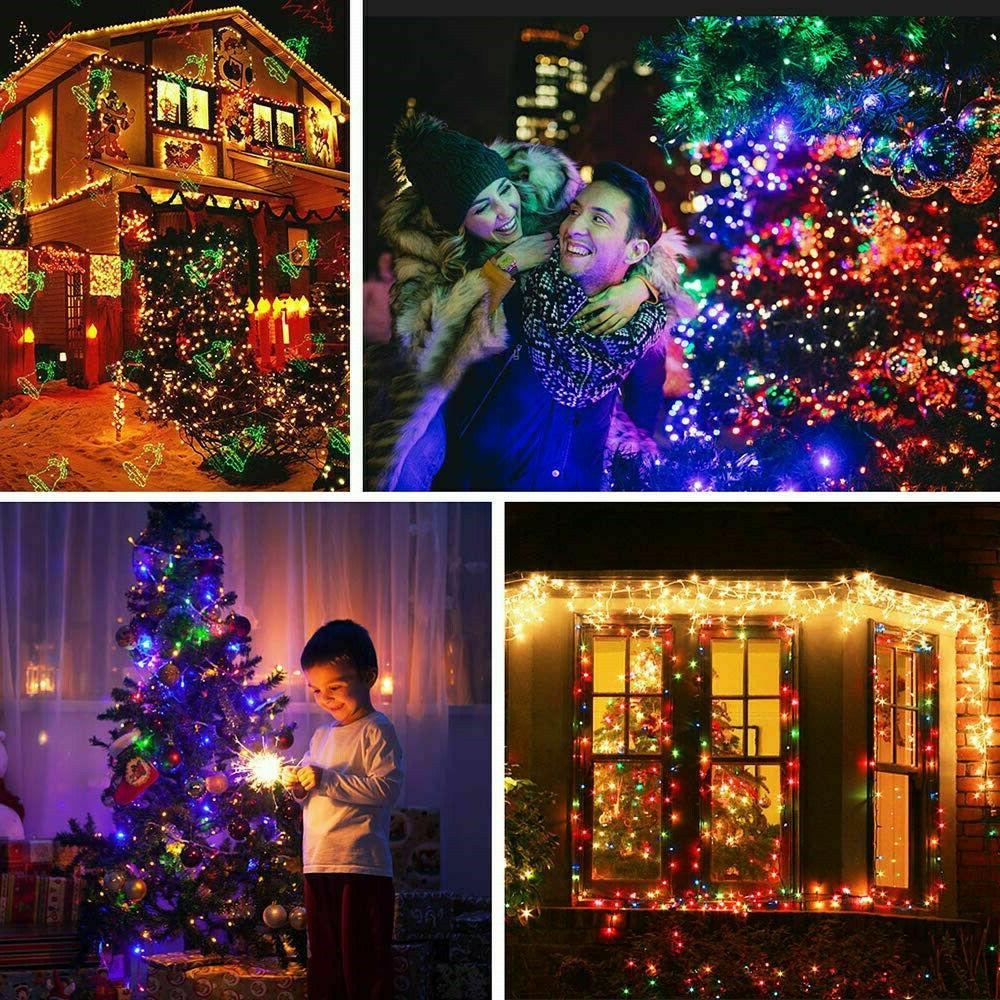 300 LED Curtain String 3m*3m USB Powered Waterproof Twinkle Wall