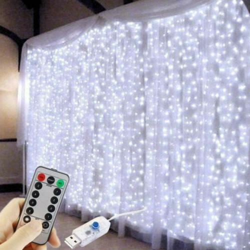 300 String 3m*3m USB Waterproof Twinkle Lights