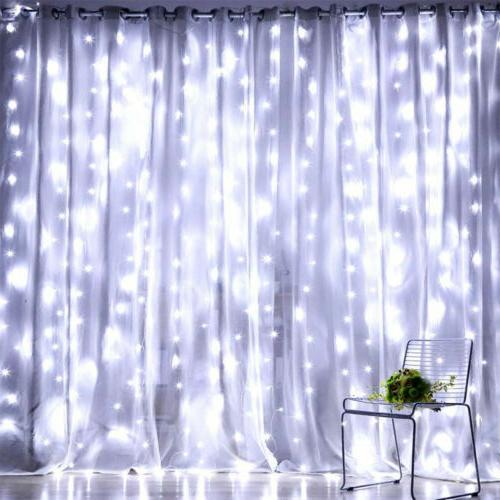 300 LED Lights String 3m*3m USB Waterproof