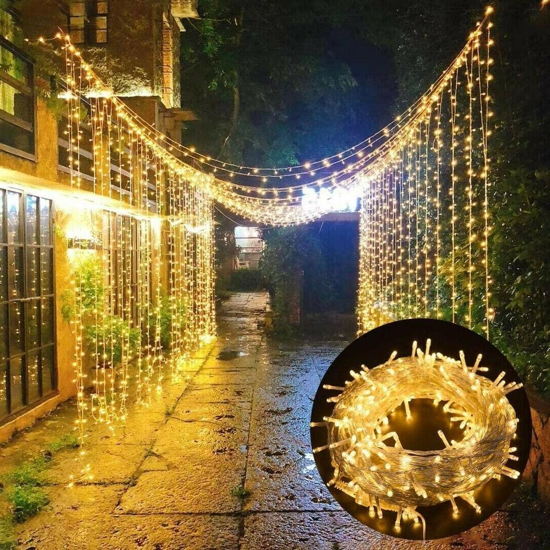 300 LED Indoor Lights, 98.5 Plug in String with