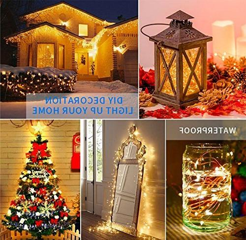 99 Copper String Lights Dimmable with Decobree with UL Party Wedding Bedroom Christmas