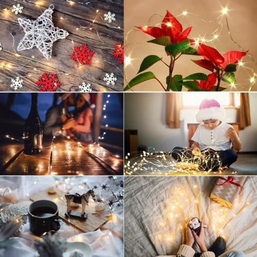 300LED / Fairy Hanging String LED Home Wedding 8 Modes