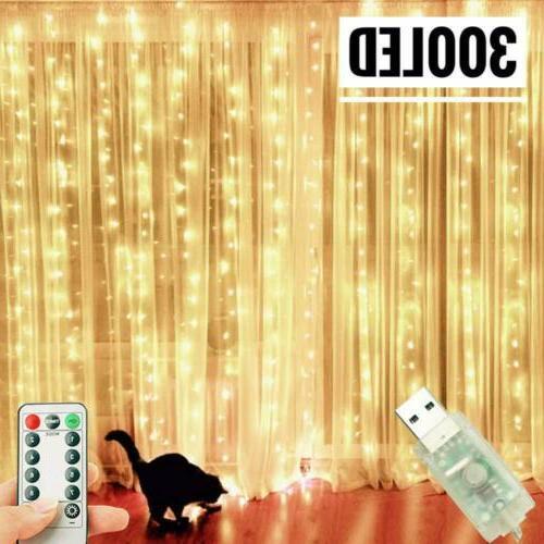300LED / 10ft Fairy LED Home Wedding Party 8