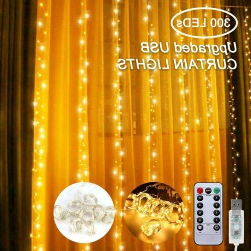 300LED / 10ft Fairy Lights LED Home 8 Modes