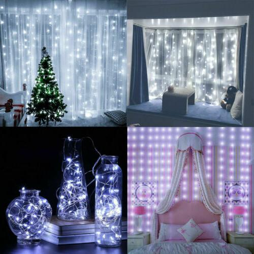 300LED/10ft Fairy String Lights Wall US