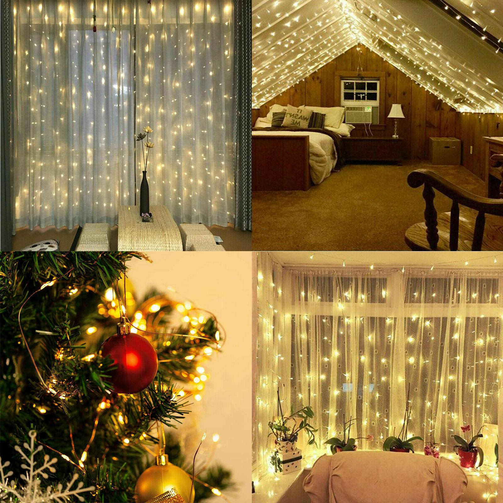300LED Party Wedding Fairy Lights USB String Light Home w/Remote